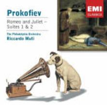 Romeo e Giulietta suites n.1, n.2 - CD Audio di Sergej Sergeevic Prokofiev,Riccardo Muti,Philadelphia Orchestra