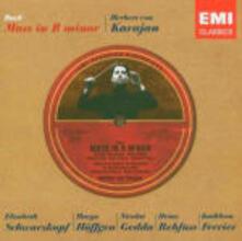 Messa in Si minore - CD Audio di Johann Sebastian Bach,Nicolai Gedda,Elisabeth Schwarzkopf,Herbert Von Karajan,Philharmonia Orchestra