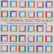 The Original Electro Album. 19 Brilliant Synth & Electro Classics from the 1980s - CD Audio