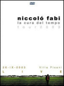 Niccolò Fabi. La cura del tempo tour. 26.IX.2003 Villa Pisani Live (DVD) - DVD