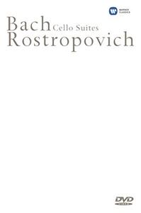 Film Bach Cello Suites. Rostropovich