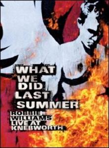 Film Robbie Williams. What We Did Last Summer