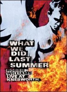 Robbie Williams. What We Did Last Summer (2 DVD) - DVD di Robbie Williams