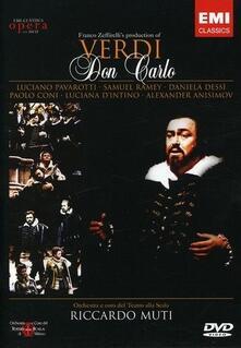 Giuseppe Verdi. Don Carlo (2 DVD) di Franco Zeffirelli - DVD