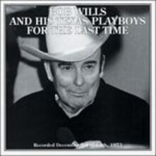 For the Last Time - CD Audio di Bob Wills