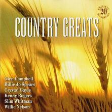 Country Greats - CD Audio