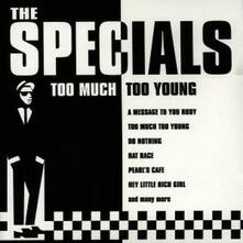 Too Much Too Young - CD Audio di Specials