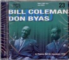 At Theatre Bel-Air, Lausanne 1949 - CD Audio di Bill Coleman,Don Byas