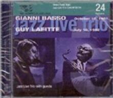 Jazz Live Concert 1981 vol.24 - CD Audio di Guy Lafitte,Gianni Basso