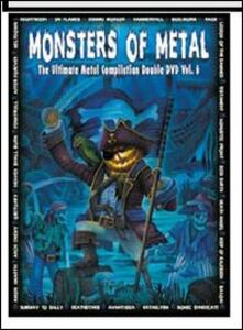 Monsters of Metal. Vol. 6 (2 DVD)<span>.</span> Limited Edition - DVD