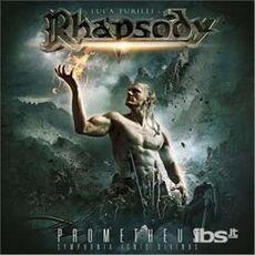 CD Prometheus. Symphonia Ignis Divinus Luca Turilli's Rhapsody