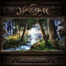 Forest Seasons Green / Mint Green Splatter - Vinile LP di Wintersun