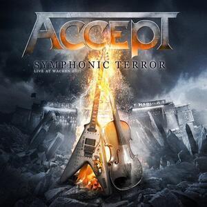 Symphonic Terror. Live at Wacken 2017 - CD Audio + DVD + Blu-ray di Accept