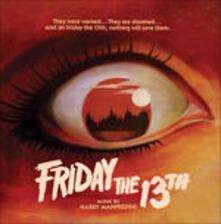 Friday the 13th (Colonna Sonora) - Vinile LP di Harry Manfredini