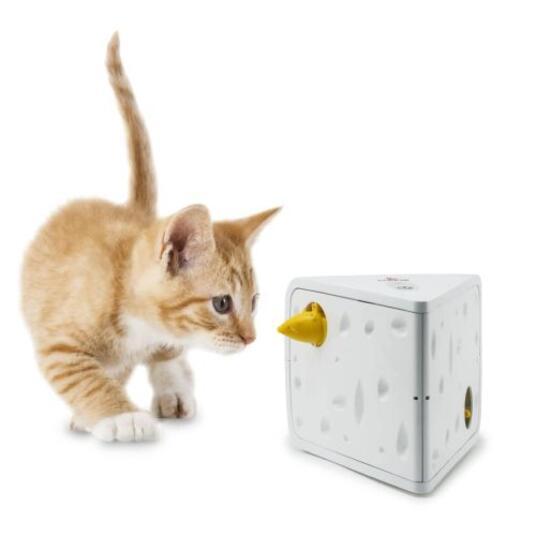 FroliCat Gioco per Gatti Automatico Cheese - 2