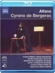 Franco Alfano. Cyrano de Bergerac (Blu-ray) - Blu-ray di Placido Domingo,Franco Alfano