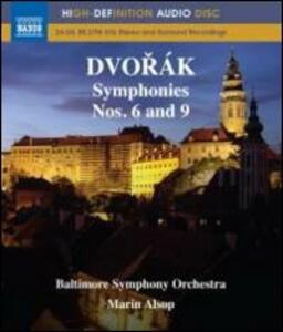 Antonin Dvorak. Symphonies Nos. 6 and 9 - Blu-ray