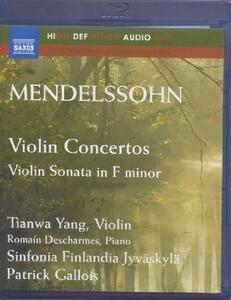 Concerto per violino op.64 MWV O 14, Concerto per violino MWV O 3 - Blu-ray