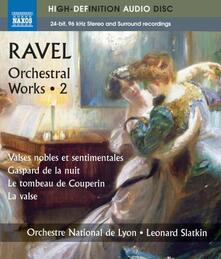 Opere orchestrali (integrale), Vol.2 - Blu-ray di Maurice Ravel,Leonard Slatkin