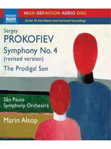 Sinfonia n.4, L'enfant prodigue - Blu-ray