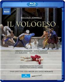 Il Vologeso (Blu-ray) - Blu-ray di Niccolò Jommelli,Gabriele Ferro