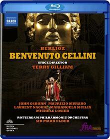 Benvenuto Cellini (Blu-ray) - Blu-ray di Hector Berlioz,Rotterdam Philharmonic Orchestra,Mark Elder,John Osborn