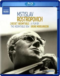 Mstislav Rostropovich. L'archet indomptable (DVD) - DVD