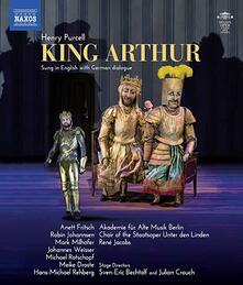 King Arthur (Blu-ray) - Blu-ray di Henry Purcell,René Jacobs