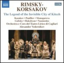La leggenda della città invisibile di Kiteh - CD Audio di Nikolai Rimsky-Korsakov