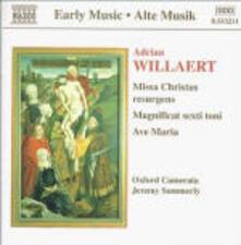 Missa Christus Resurgens - Magnificat Sexti Toni - CD Audio di Oxford Camerata,Adrian Willaert,Jeremy Summerly