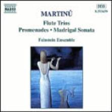 Trii con flauto - CD Audio di Bohuslav Martinu