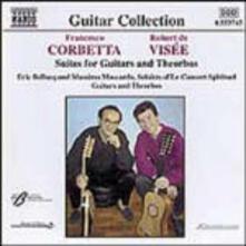 Suites per chitarra e tiorba - CD Audio di Robert de Visée,Francesco Corbetta