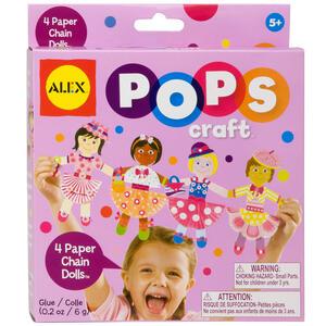 Mini Kit Creativi Crea 4 Bambole di Carta