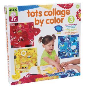 Arte per i Piccoli Collage Colorati - 2