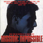 Cover CD Colonna sonora Mission: Impossible