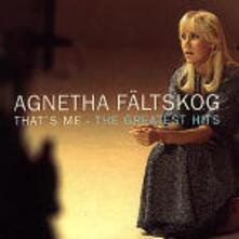 That's Me the Greatest Hits - CD Audio di Agnetha Fältskog