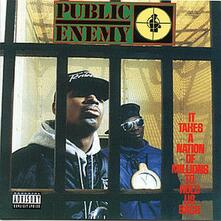 It Takes a Nation of Millions to Hold Us Back - CD Audio di Public Enemy
