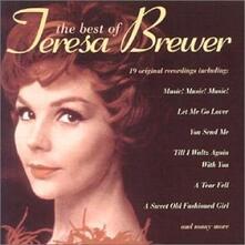 Best Of Teresa Brewer - CD Audio di Teresa Brewer