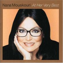At Her Very Best - CD Audio di Nana Mouskouri