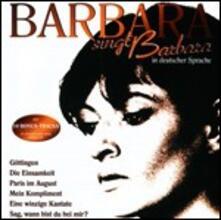 Barbara Singt Barbara in Deutscher Sprache - CD Audio di Barbara