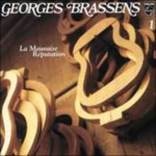 La mauvaise reputation - CD Audio di Georges Brassens