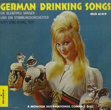 German Drinking so - CD Audio