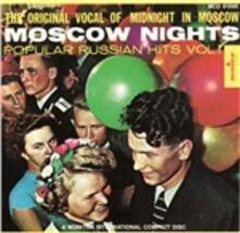 Moscow Nights - CD Audio