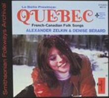 La Belle Province Quebec - CD Audio di Alexander Zelkin