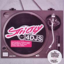 Strictly 4DJs vol.4 - CD Audio