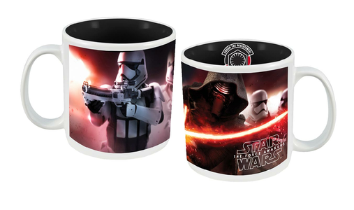 Idee regalo Tazza in ceramica Maxi Star Wars VII. Kylo Ren e Stormtrooper Joy Toy