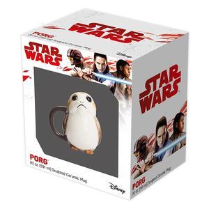 Star Wars Porg 3D Tazza In Ceramica 3D In Confezione Regalo