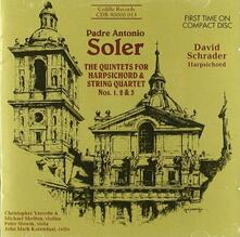 Quintetti per clavicembalo e archi - CD Audio di Antonio Soler