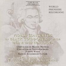 Concerto per Violino n.4 - CD Audio di J.J.O. de Meude-Monpas Chevalier