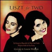6 Rapsodie ungheresi per pianoforte a 4 mani - CD Audio di Franz Liszt